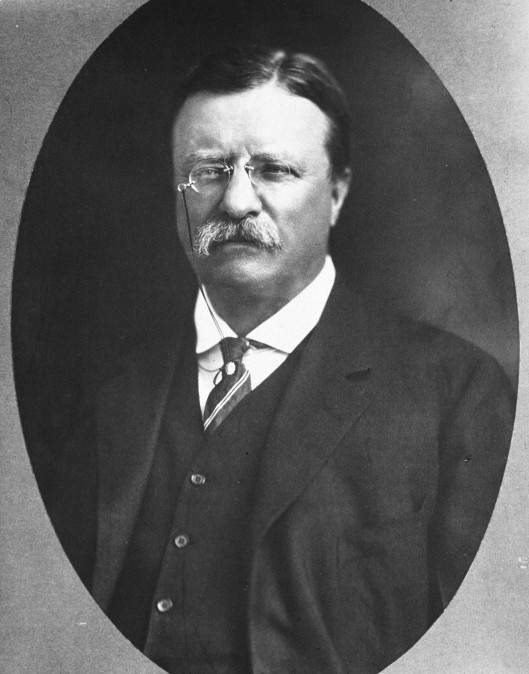 President Theodore Roosevelt. (1858-1919) (Courtesy of the National Archives/Newsmakers)