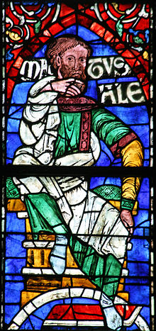 A stained glass depicting Methuselah from Canterbury Cathedral. Picture from Wikipedia.
