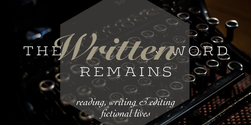 The Written Word Remains…